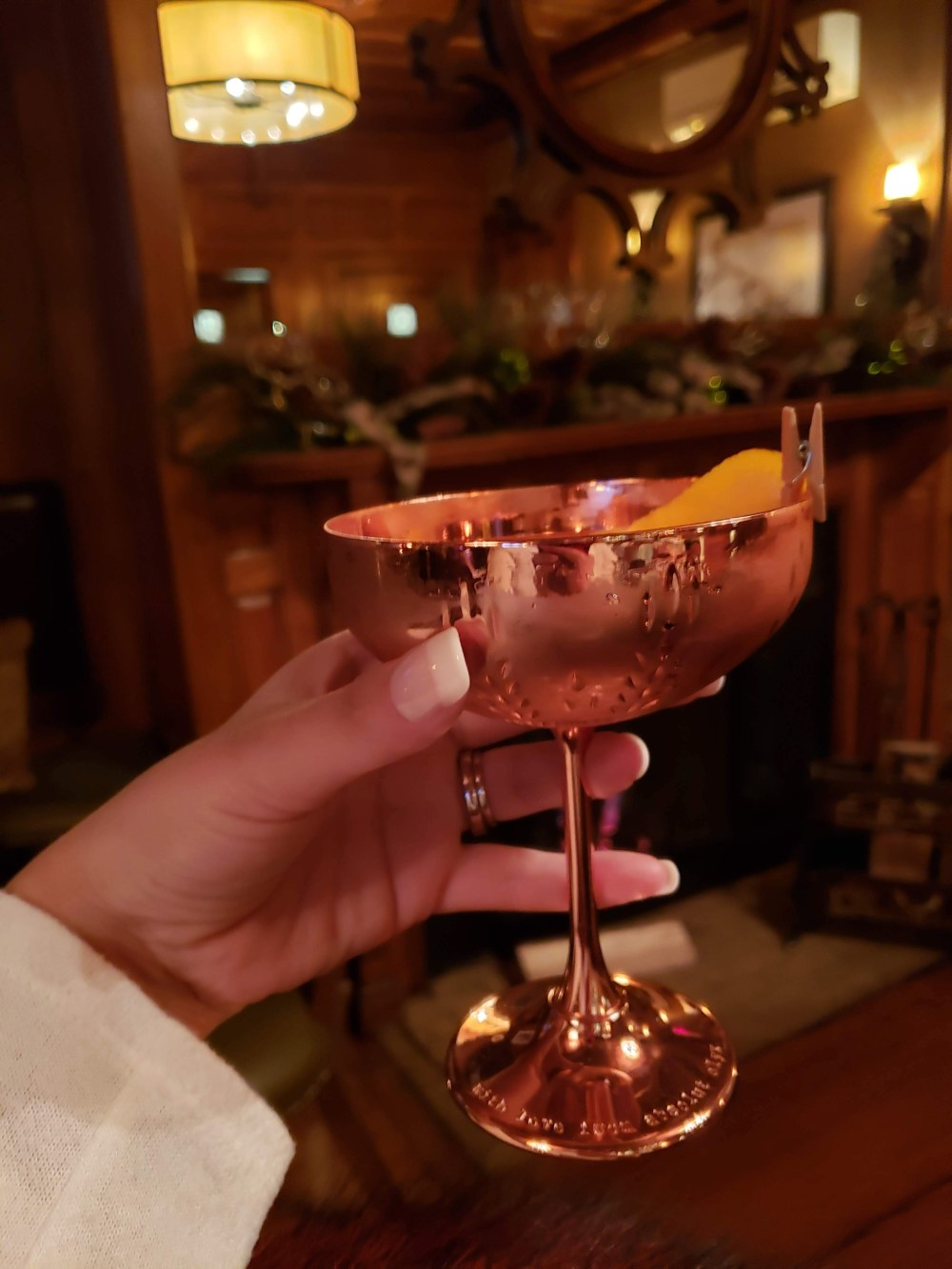 A Copper Cocktail