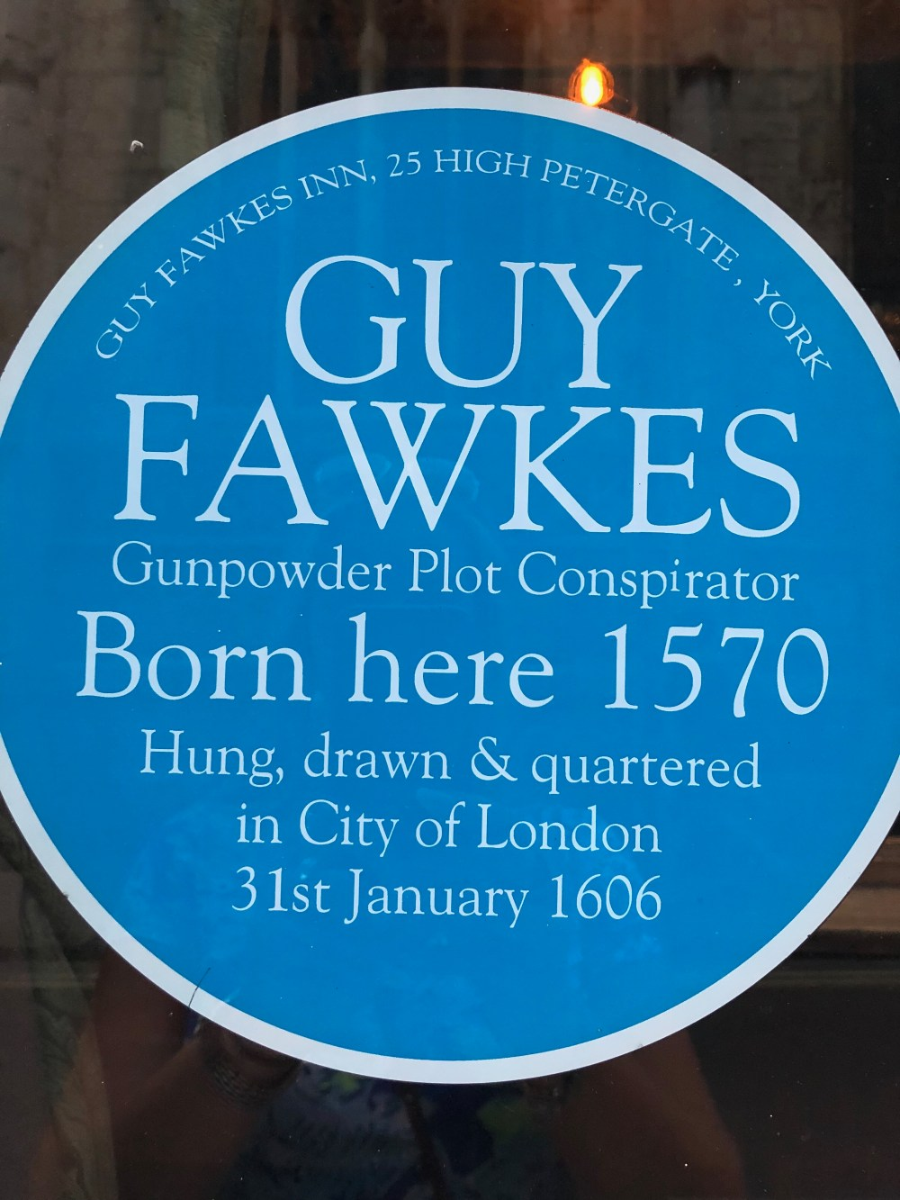 Guy Fawkes historical figures