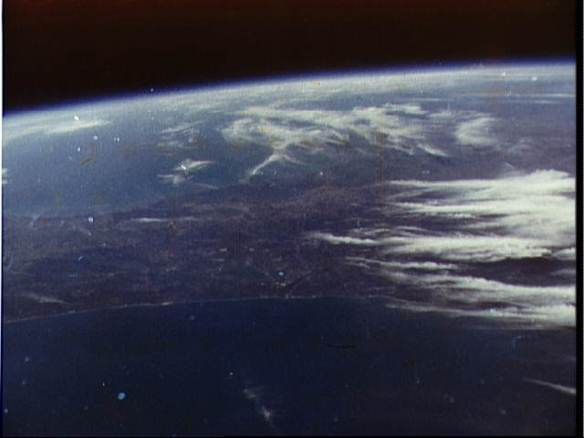 View of Earth from Friendship 7
