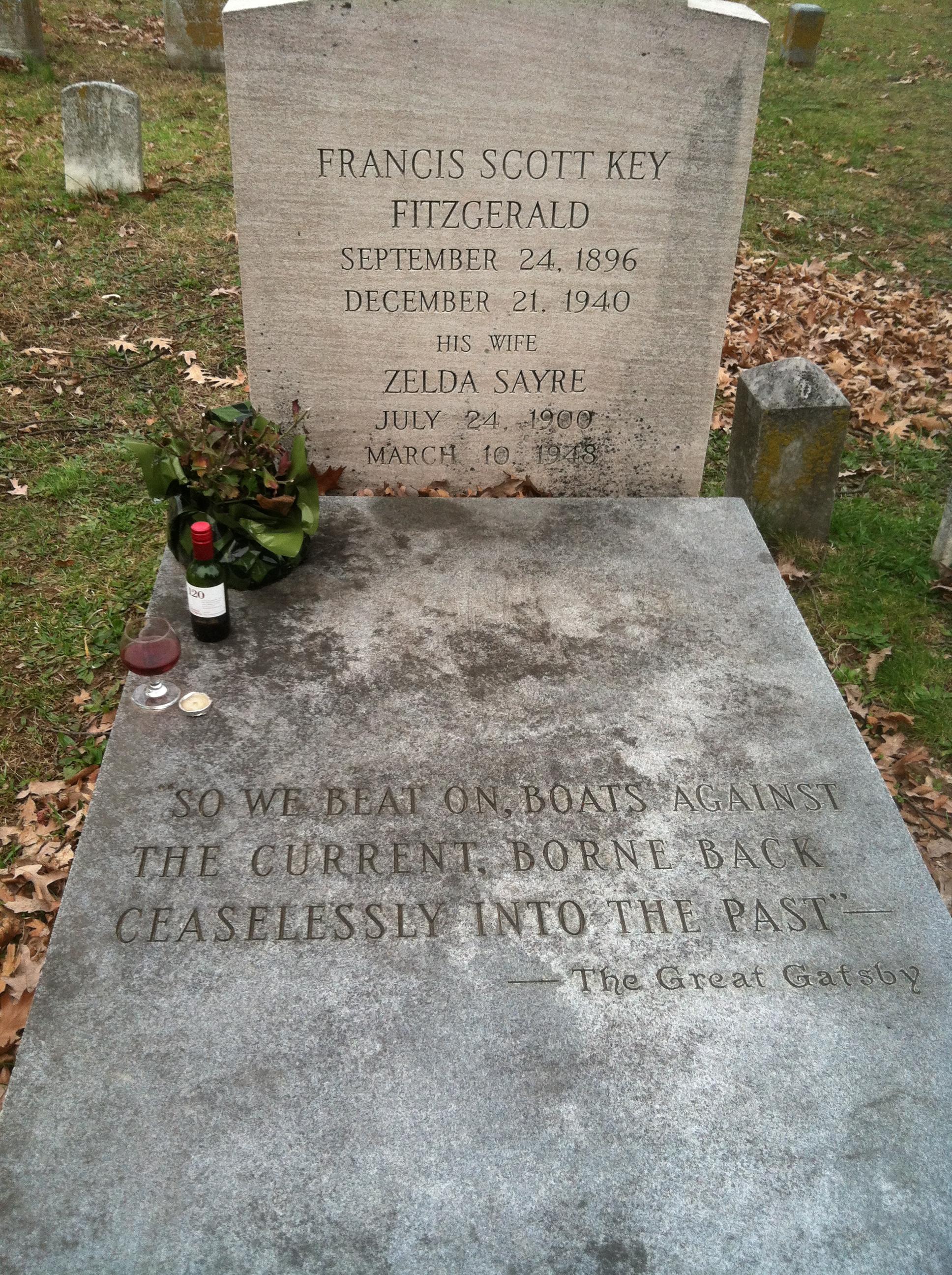 F Scott Fitzgerald Grave