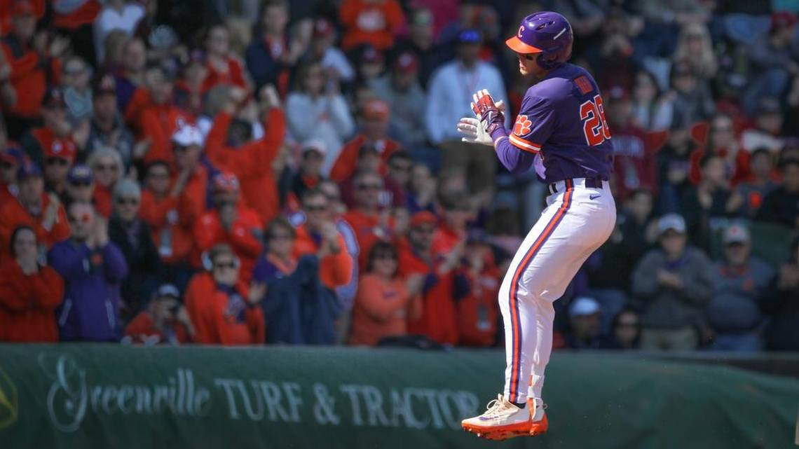 Clemson Tigers-William And Mary Baseball Score Feb 17