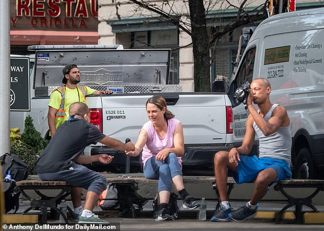The Upper West Side emerged as a flashpoint of the debate over NYC's homeless initiative as some members of the largely affluent community complained that drug use, drug deals and public urination had become a common sights on their streets
