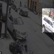 Surveillance footage released by the New York Police Department shows a shooting that took place in the Bronx on Thursday