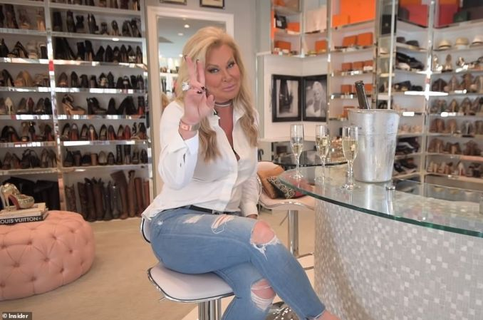 Roemer, a former Miss Texas winner and philanthropist dubbed the 'Ultimate Real Housewife of Houston', drew the envy of women across the country when she shelled out $1million to build her 3,000-square-foot closet