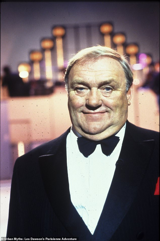 Actor John Bradley, who plays the younger Les Dawson, said the challenge of steeping into Dawson's younger shoes was trying to envisage the man's presence without any visual clues