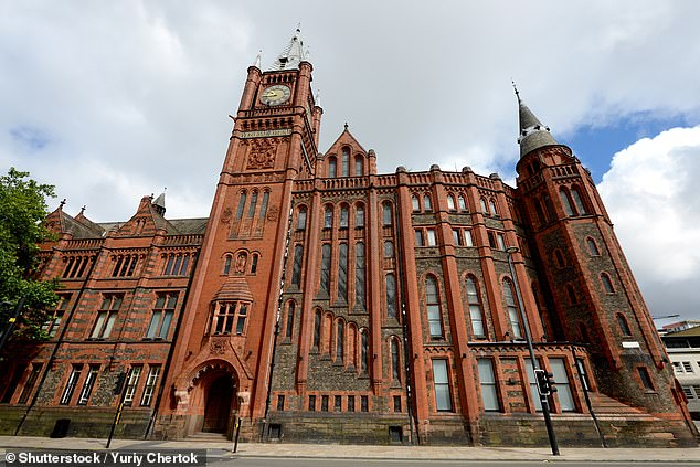 Liverpool University (pictured) has seen 177 staff and students have tested positive as of last week