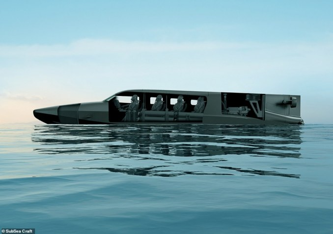 Capable of operating both on and under the water, VICTA combines the characteristics of a fast surface craft with those of a specialist submersible