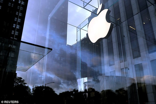 Apple's share price rose on the expectation of a new iPhone unveiled on Tuesday