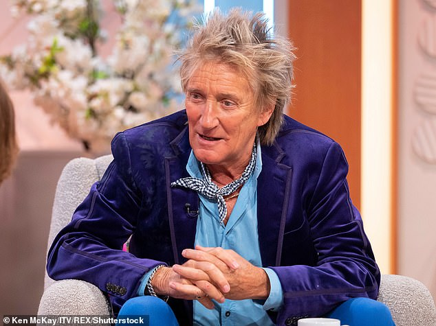 Apologetic:Rod previously addressed the comments he made on television in an interview with The Mail on Sunday's Event Magazine in 2018, he said: 'I wish I hadn't said it' (pictured in 2019)
