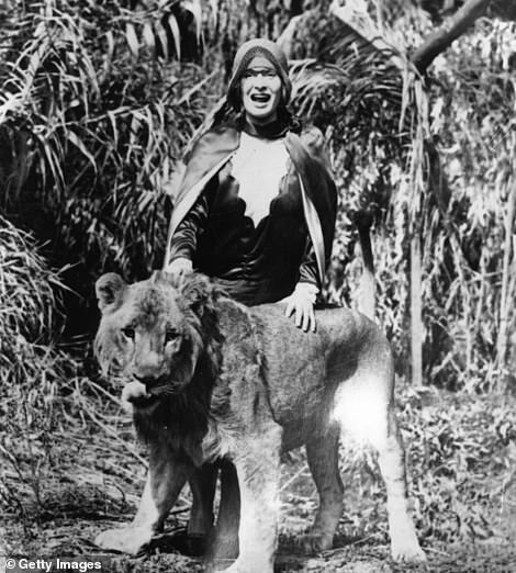 In addition to dramatic staging, costume and props, McPherson also used used live-animals during her Sunday sermons including lions, camels, mccaws, an ox and eagle
