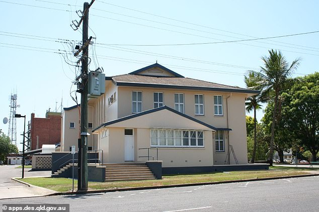 Ingham Court House in north Queensland, where Christopher Downing avoided a conviction for poisoning two of his neighbours' dogs (stock image)