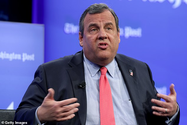 Christie (pictured):'I believe we have not treated Americans as adults, who understand truth, sacrifice and responsibility that I know them to be'