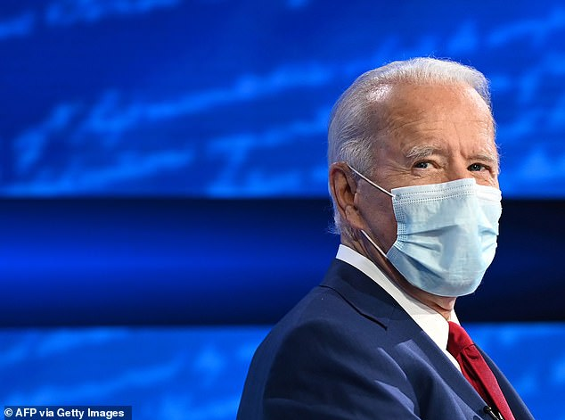 Over at Biden's town hall, the Democrat wasn't asked about his son's explosive emails