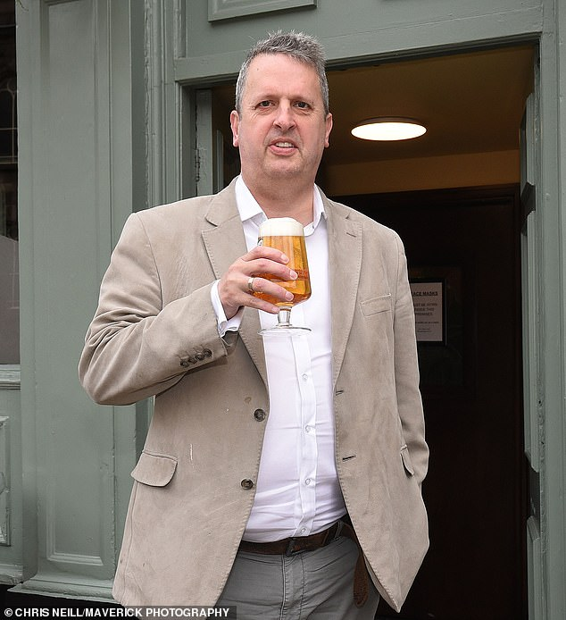 Damien Brockway said he used to take 100 staff for a pint, but was now banned under Tier 2