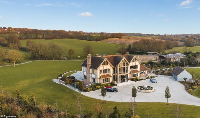 For keen equestrians with deep pockets, Aspen House in the Essex countryside, appears to be a dream come true. The five-bedroom home is set in a whopping 52 acres of land and has its own Olympic-sized equestrian centre