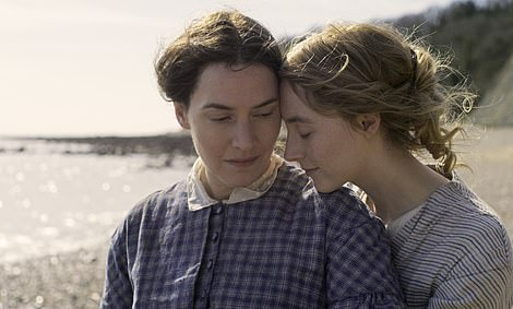 Kate Winslet and Saoirse Ronan in the new movie Ammonite