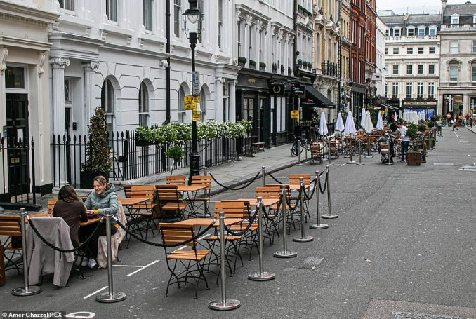 Almost a third of restaurants and pubs in England will be affected by the tougher tier curbs introduced - more than 8,500 venues and 5,000 pubs