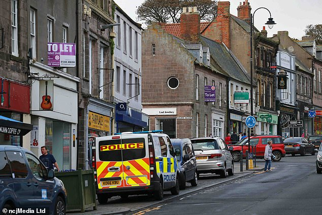 One Berwick landlady wasleft furious after being threatened with closure by officers policing the town on the day of the Old Firm derby