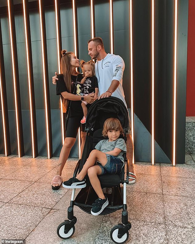 The couple had three children David, Lola and Olivia. The youngest is just nine months old