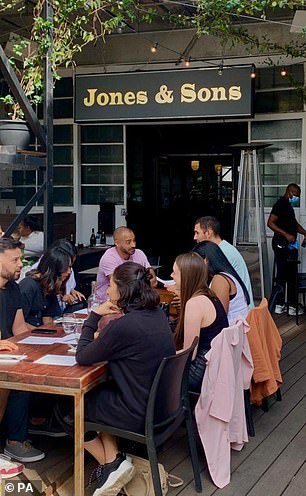 Andy Jones, owner of Jones and Sons in Dalston, north London, said 540 people who had been booked in on Saturday had cancelled