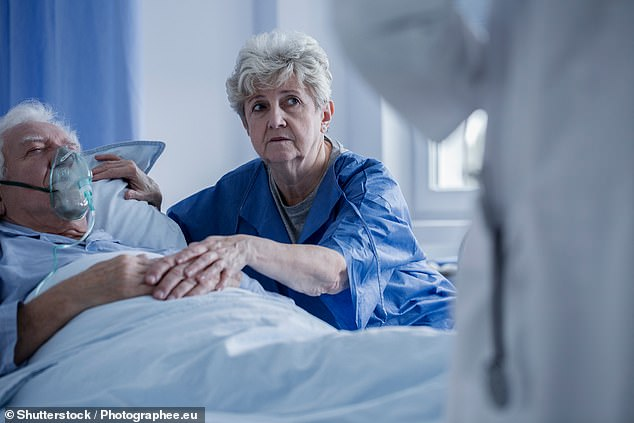 Those campaigning to legalise euthanasia in this country have taken encouragement from last week¿s poll by the British Medical Association, suggesting some movement in its membership towards acceptance of such a policy (stock photo)