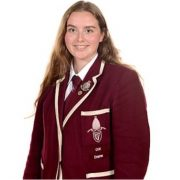 Deputy head girl Jeni is one of three students who died at university in Newcastle this term