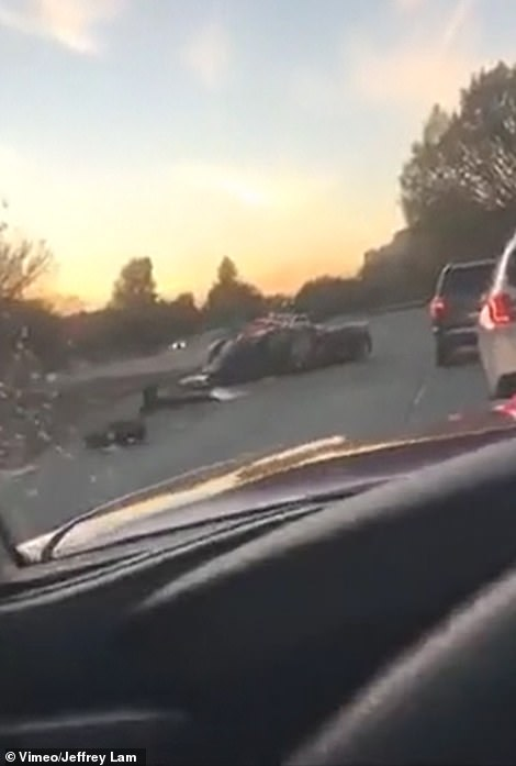 It is not yet clear what caused the crash
