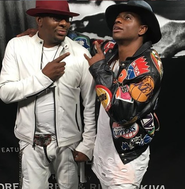 A friend told DailyMail.com that Brown Jr.'s family history weighed on the hip-hop artist, and he felt a pressure to avoid drugs and scandal that dogged his father's tumultuous life. Pictured: Bobby Brown and Bobby Jr. in 2016