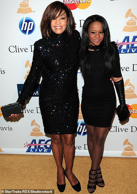 Tragic: Bobbi Kristina died in hospice care on July 26, 2015, nearly six months after she was found unconscious in a bathtub; seen in 2011