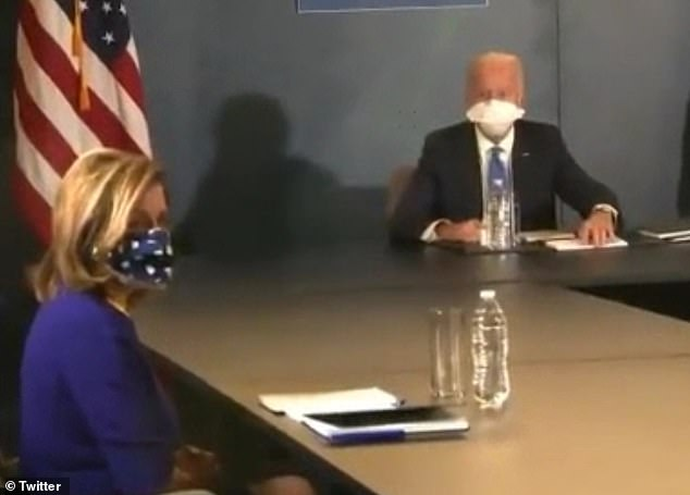 Towards the end of the meeting, CBS News reporter Bo Erickson asked Biden about whether he intends to lean on teachers unions to get kids back to school during the COVID-19 pandemic.'Why are you the only guy that always shouts out questions?' Biden says in response. He declined to answer the question