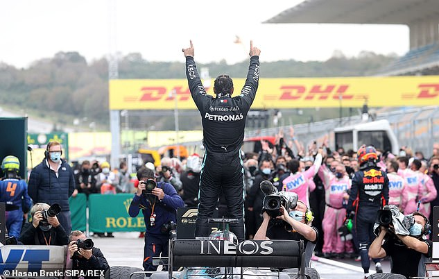 The British driver sealed his seventh world championship with his victory in Turkey