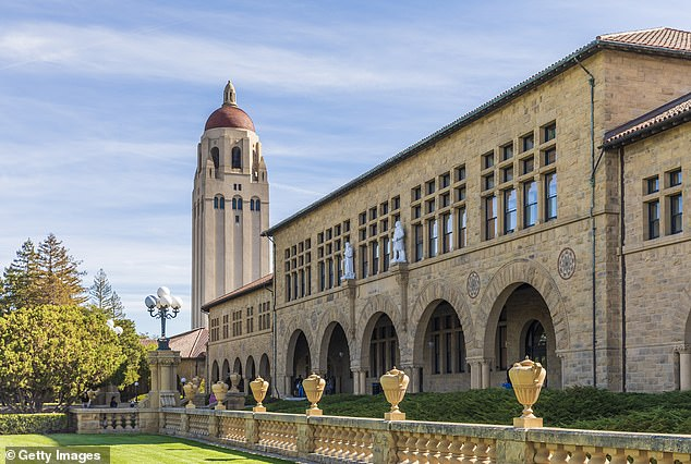The Stanford Faculty Senate's resolution accused Atlas of spreading disinformation that not only 'contradicts medical science' but also damages Stanford's 'reputation and academic standing'. The Stanford campus in Palo Alto is seen above in a file photo