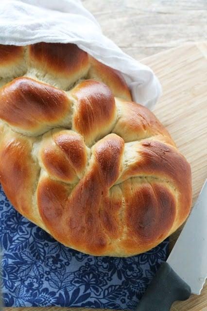 Jewish Traditional Bread Recipe Challah