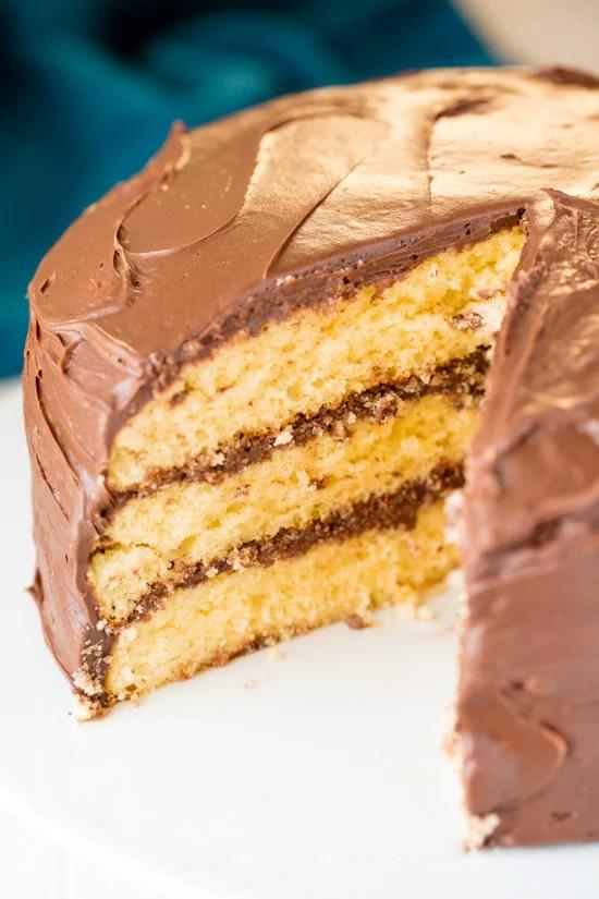 The Most Amazing Vanilla Cake Recipe