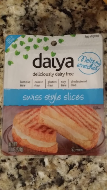 daiya swiss cheese