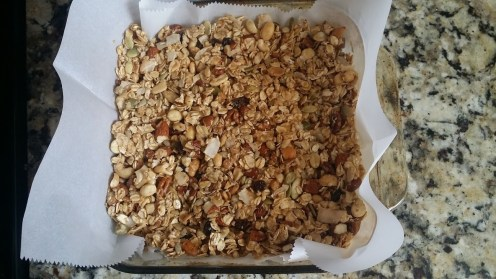 nut bars mold