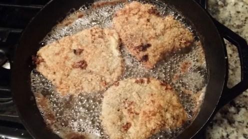 chicken fried steak side 2 frying