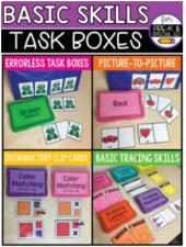 HSPS - Basic Skills Task Boxes