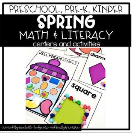 Preschool Activities Cover - 4Spring