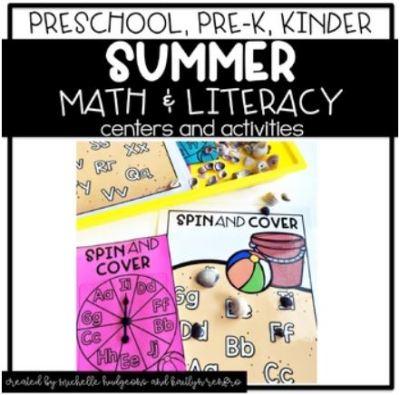 Preschool Activities Cover - 5Summer