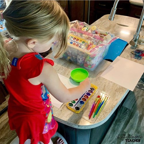 Homeschool Preschool Routine for 3 Year Olds