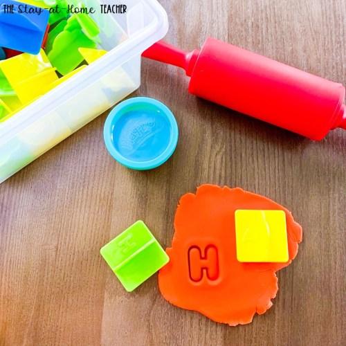 Alphabet Preschool Sensory Activities