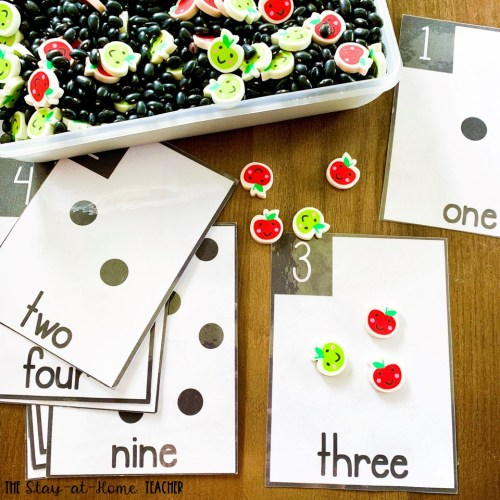 Apple Counting Cards