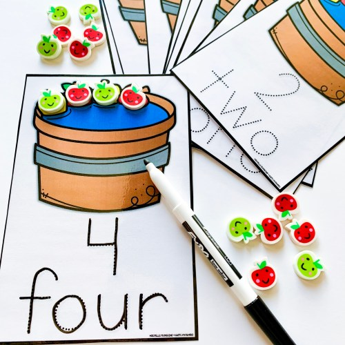 Apple Counting and Numbers