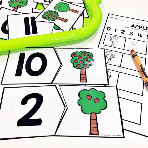 Apple Counting Puzzles