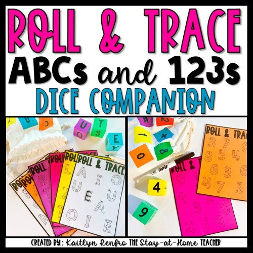 Roll and Trace Target Dice