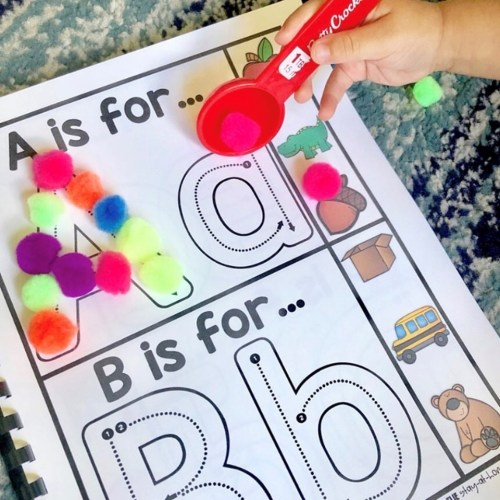 Preschool Binder Pages - Chantal1