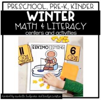 Preschool Activities Cover - 1Winter