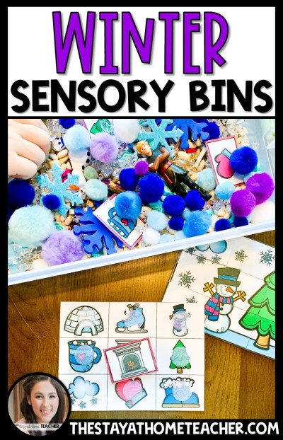 Winter Sensory Bins2