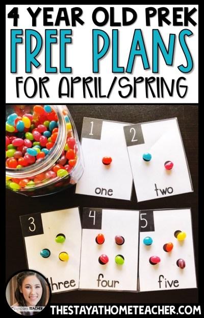4April Preschool Plans2